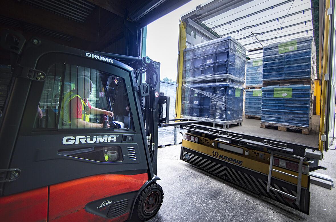 Behältermanagement comepack Transportmanagement